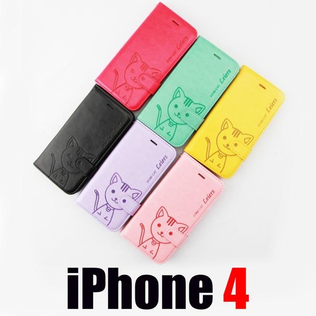 เคส iPhone 4/4S Domi Cat