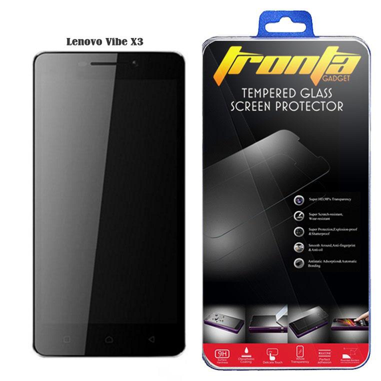 ฟิล์มกระจก tronta Lenovo Vibe X3