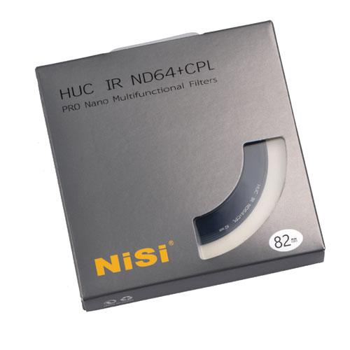NiSi HUC PRO NANO IR ND64 + CPL (แผ่นกลม)