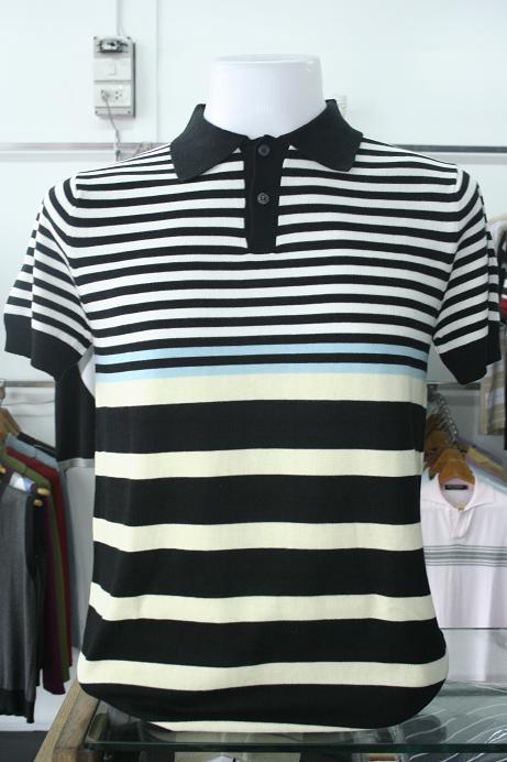เสื้อยืดผู้ชาย คอวี แขนสั้น Cotton เนื้อดี รหัส MC0747 Size L