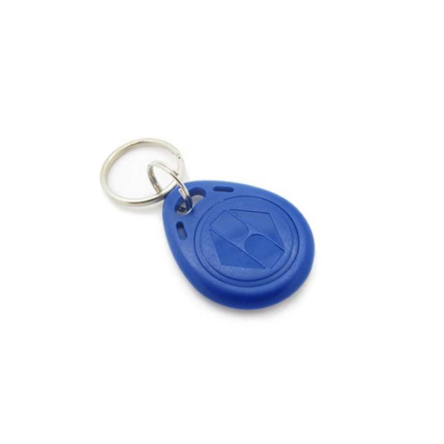 RFID 125 kHz Proximity Token Key Tags (Blue - Key Fob)