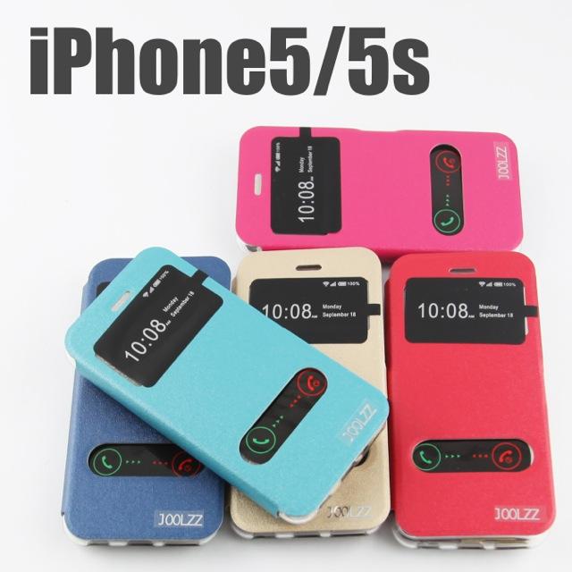 เคส iPhone 5/5S เปิดหน้า JOOLZZ II Smart Case