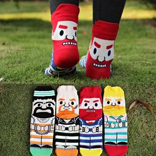 S108**พร้อมส่ง** (ปลีก+ส่ง) ถุงเท้าแฟชั่นเกาหลี ข้อยาว มีหู เนื้อดี งานนำเข้า(Made in china)