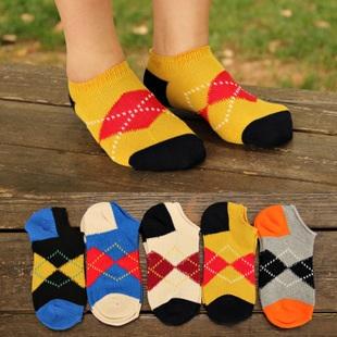 S217**พร้อมส่ง** (ปลีก+ส่ง) ถุงเท้าแฟชั่นเกาหลี ข้อสั้น เนื้อดี งานนำเข้า(Made in China)