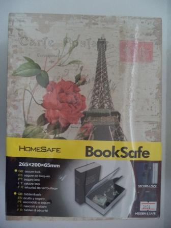 book safe ขนาด 265*200*65 มม. รหัส 0906