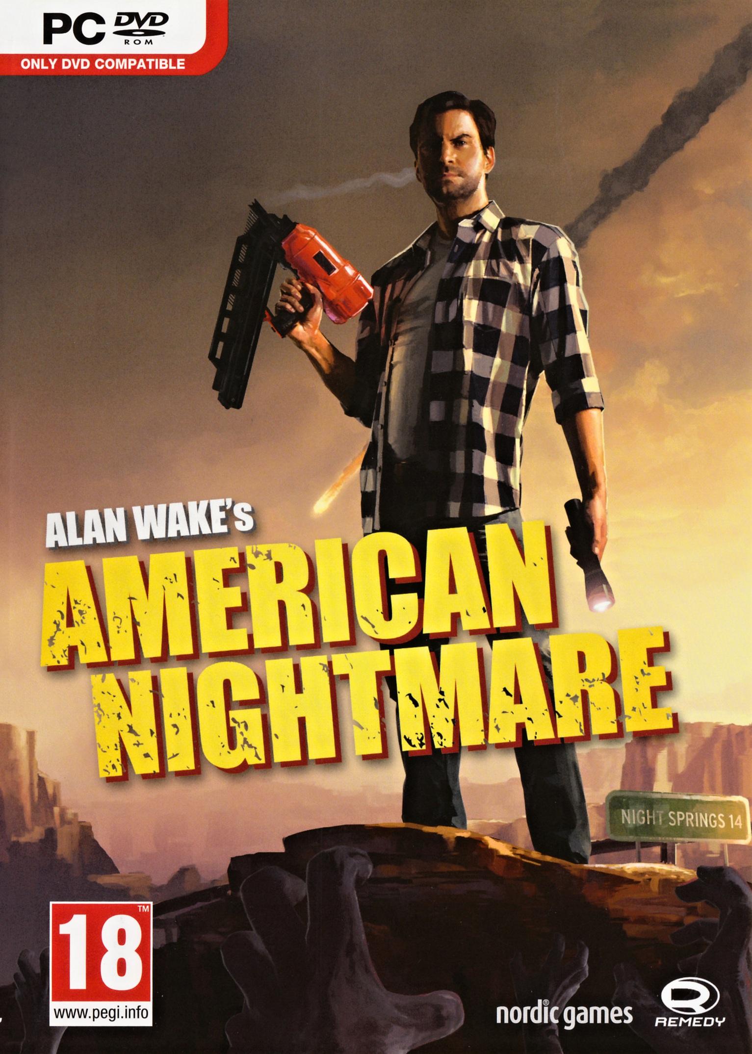 Alan Wakes American Nightmare ( 1 DVD )