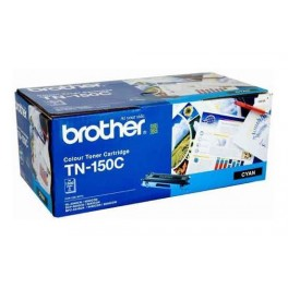 Brother TN-150C ตลับหมึกโทนเนอร์ สีฟ้า Cyan Original LaserJet Toner Cartridge