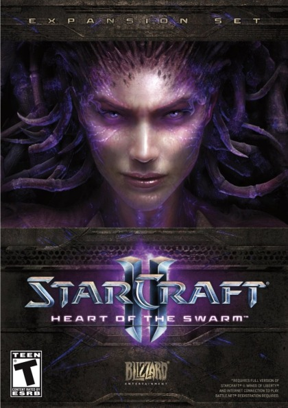 StarCraft II Heart of the Swarm ( 4 DVD )