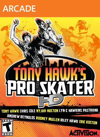 Tony Hawk s Pro Skater HD ( 1 DVD )