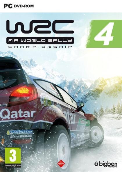 WRC 4 FIA World Rally Championship ( 1 DVD )