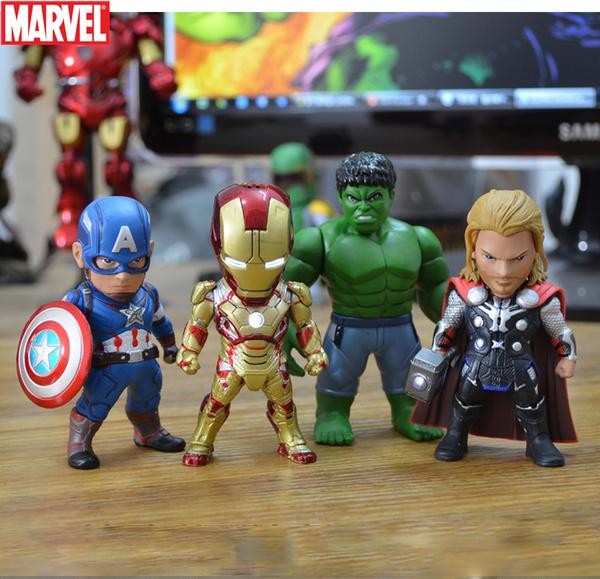 โมเดลไอรอนแมน Ironman 3(ชุดที่ 9) ในชุดมี 4 ตัว/ชุด