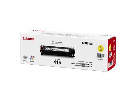 Canon Cartridge-416Y ตลับหมึกโทนเนอร์ สีเหลือง Yellow Original Toner Cartridge
