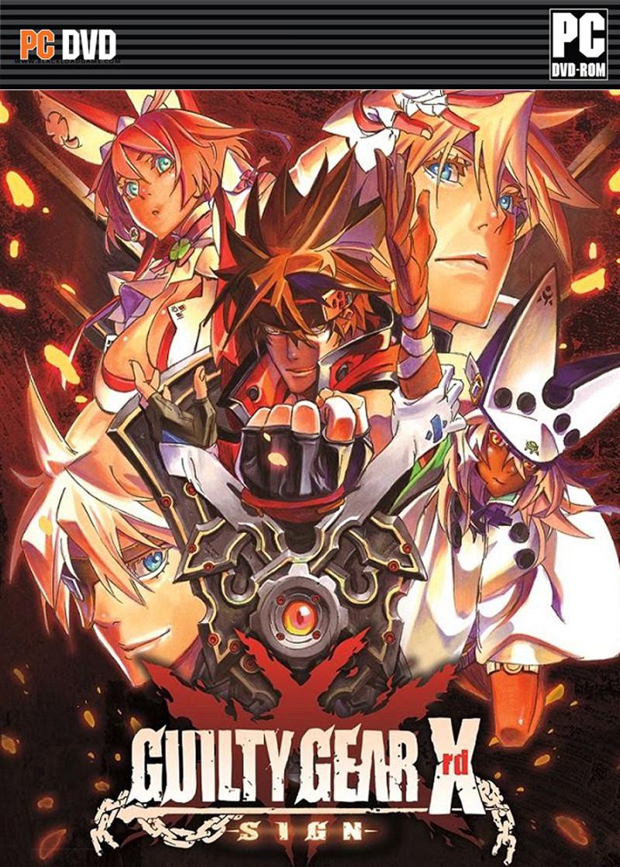 Guilty Gear Xrd SIGN ( 3 DVD )
