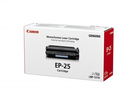 Canon EP-25 ตลับหมึกโทนเนอร์ สีดำ Black Original Toner Cartridge