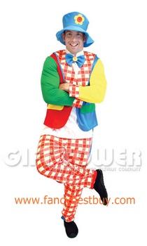 ชุดแฟนซีผู้ชาย ชุดตัวตลก Clown