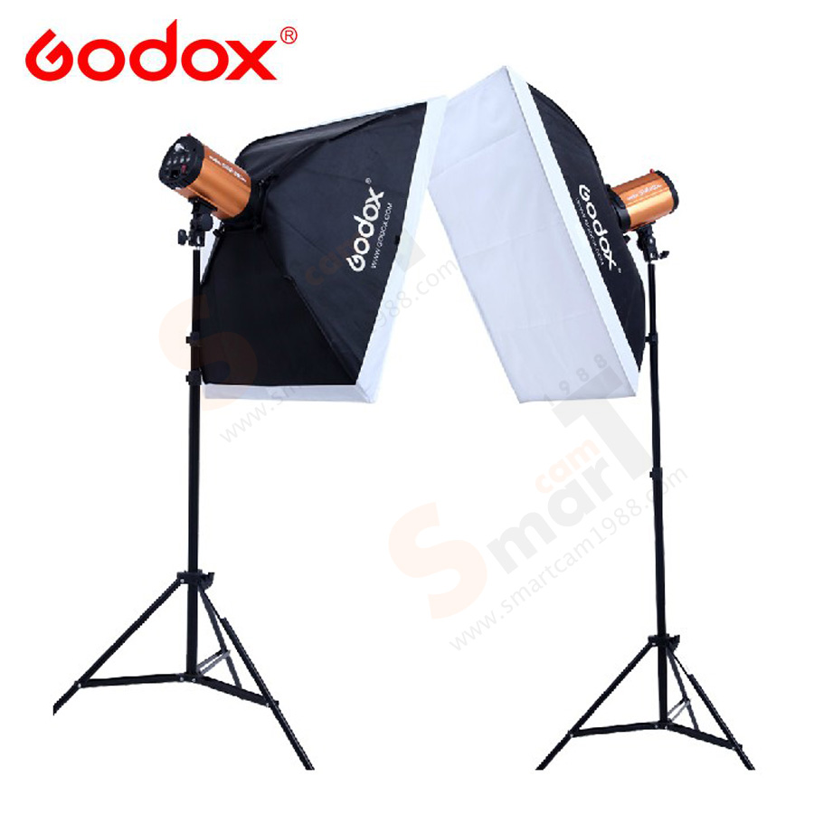 Godox 250W x 2set studio flash suit