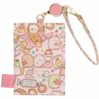 กระเป๋าใส่บัตร Sumikko Gurashi ขนมสีชมพู