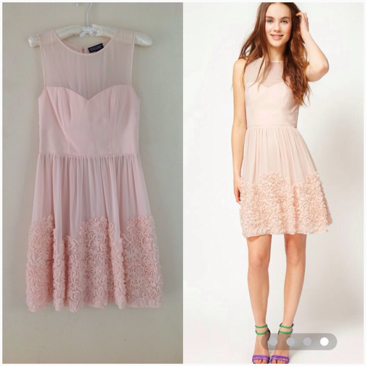 Warehouse lace dress Size uk10