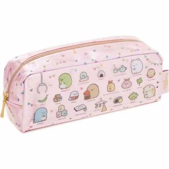 กระเป๋าดินสอ Sumikko Gurashi สีชมพู