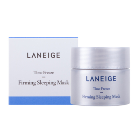 Laneige Time Freeze Firming Sleeping Mask 10 ml. มาส์คช่วยยกกระชับผิวให้เต่งตึง