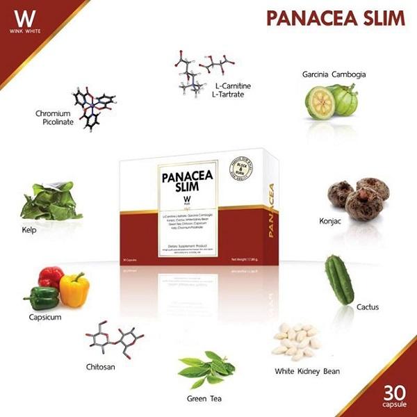 panacea slim รีวิว