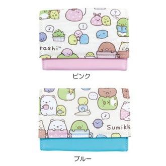 กระเป๋าใส่บัตร Sumikko Gurashi สีชมพู