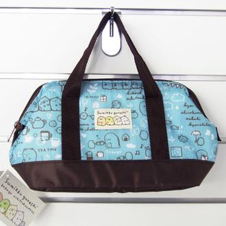 กระเป๋าเก็บอุณหภูมิทรงกว้าง Sumikko Gurashi สีฟ้า